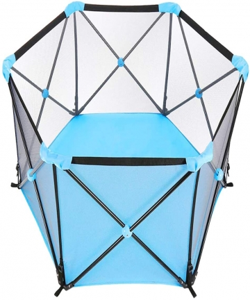 Seemo-Baby-Playpen-Baby-Portable-Foldable-Playard-Baby-Fence-for-0-6Ages-Kids-with-Carry-CaseWashable-6-Panel-and-Crawling-Play-