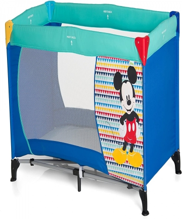 Hauck-Disney-Baby-Dream-n-Play-Travel-Cot-with-Folding-Mattress-601280