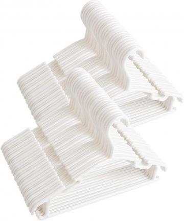 Baby-HangersKids-White-Plastic-Hangers-for-Baby-Clothes-Toddler-Hangers-Infant-Clothes-Hangers-80-kid-hangers-B07XBS2GRB