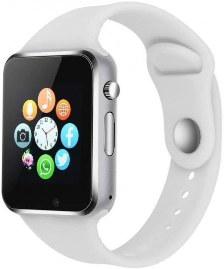 Smart Watch - 321OU Touch Screen Bluetooth Smart Wrist Watch Smartwatch Phone Fitness Tracker with SIM SD Card Slot Camera Pedo