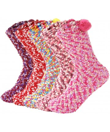 WomenS-Slipper-Fuzzy-Christmas-Crew-Socks-For-Women-Warm-Soft-Fluffy-Socks-Winter-Cozy-Gifts-B07WFDSRSV