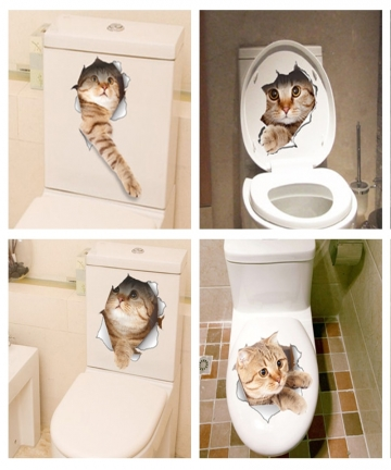 Cat-Vivid-3D-Smashed-Switch-Wall-Sticker-Bathroom-Toilet-Kicthen-Decorative-Decals-Funny-Animals-Decor-Poster-PVC-Mural-Art-3285