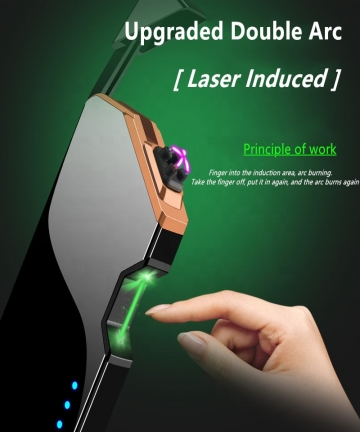 Laser-Induced-Double-Arc-Plasma-Lighter-Electric-USB-Rechargeable-Windproof-Flameless-Cigarette-Encendedores-Dropship-Suppliers-