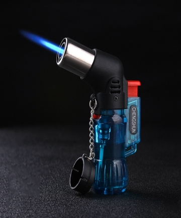 Mini-Butane-Compact-Jet-Lighter-Windproof-Torch-Turbo-Lighter-Gasoline-For-Kitchen-Gadget-Gas-Lighters-Random-Color-For-Outdoor-