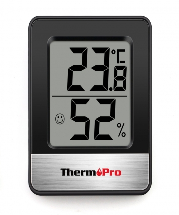 ThermoPro-TP49-Mini-weather-station-Black-White-room-thermometer-hygrometer-4000474708767