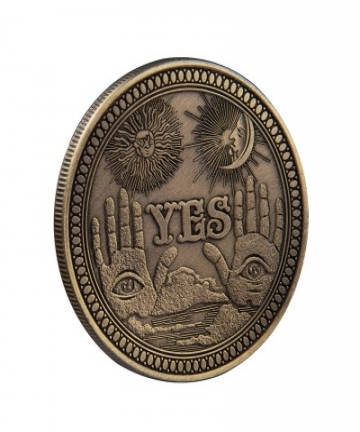 YesNo-Ouija-Gothic-Prediction-Decision-Coin-All-Seeing-Eye-or-Death-Angel-Nickel-USA-Morgan-Dollar-COIN-4000532125861