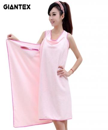 GIANTEX-Bathroom-Women-Microfiber-Bath-Towels-for-adults-Wearable-Beach-Towel-Bath-Wrap-Towel-Bath-Gown-serviette-de-bain-toalha