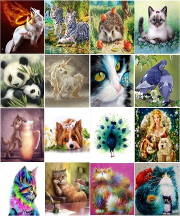 5D-DIY-full-circle-character-landscape-diamond-painting-animal-tiger-cat-Mosaic-cross-stitch-Mosaic-home-decoration-wall-paste-1