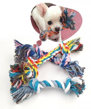 1-Pcs-Dog-Bite-Rope-Toys-Pets-Dogs-Supplies-Pet-Dog-Puppy-Cotton-Chew-Knot-Toy-Durable-Braided-Bone-Rope-Funny-Tool-Random-Color