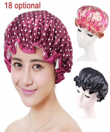 Lovely-Thick-Women-Shower-Caps-Colorful-Double-Layer-Bath-Shower-Hair-Cover-Adults-Waterproof-WXV-Sale-32963777184