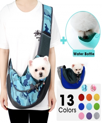 Slings-Dog-Carrier-Comfort-Shoulder-Bag-Outdoor-Mesh-Handbag-Oxford-Pet-Travel-Cats-Tote-Breathable-Puppy-Front-Outdoor-Cover-40