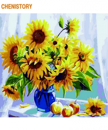 CHENISTORY-Frameless-Picture-Diy-Painting-By-Numbers-Sunflowers-Flowers-Wall-Art-Picture-By-Number-Calligraphy-Painting-40002742