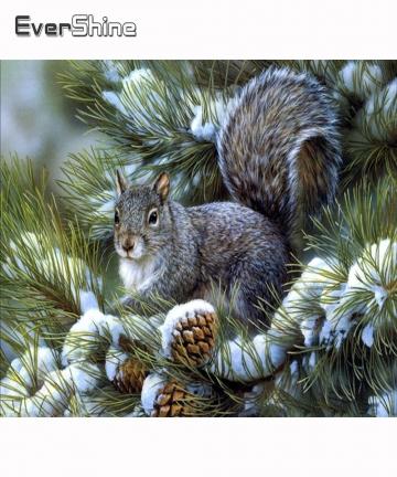 Evershine-5D-Diamond-Painting-Animals-Squirrel-Diamond-Embroidery-Full-Square-Diamond-Mosaic-Cross-Stitch-Landscape-Home-Decor-4