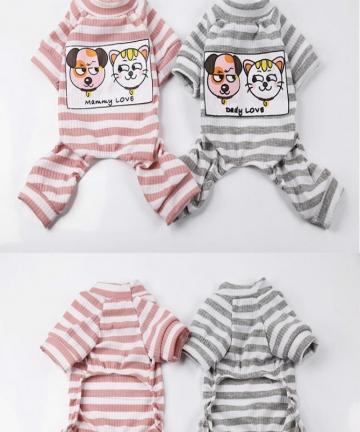 Fashion-Pet-Dog-Jumpsuit-Puppy-Cat-Dog-Costume-Cotton-Dog-Clothes-Soft-Pullover-Dog-Shirt-Strip-Half-high-Collar-Dog-Clothes-400