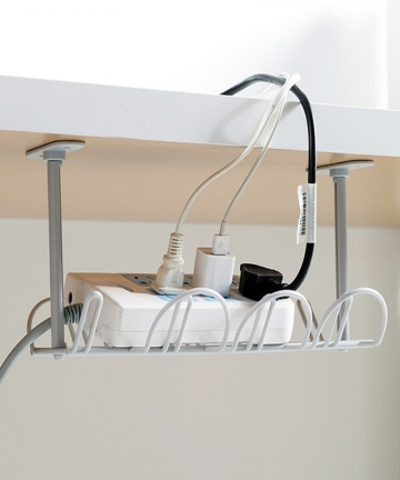 Shelf-Adhesive-Strong-Hanging-Basket-Socket-Storage-Household-Accessory-Rack-Plug-Holder-Table-Bottom-Power-Cable-Wire-Organizer