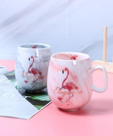 Flamingo-Coffee-Mugs-Ceramic-Mug-Travel-Cup-Cute-Cat-Foot-Ins-7285mm-H1215-33041172538