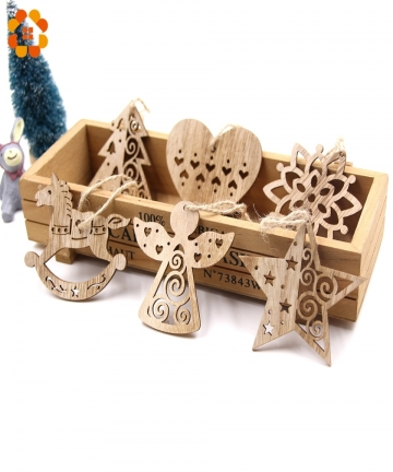 6PCS-European-Hollow-Christmas-Snowflakes-Wooden-Pendants-Ornaments-for-Xmas-Tree-Ornament-Christmas-Party-Decorations-Kids-Gift