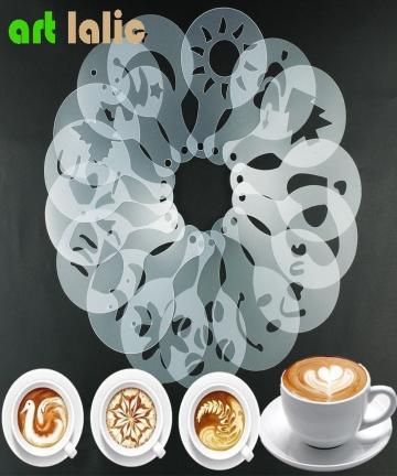 16Pcs-Mold-Coffee-Milk-Cake-Cupcake-Stencil-Template-Coffee-Barista-Cappuccino-Template-Strew-Pad-Duster-Spray-Tools-32603124856