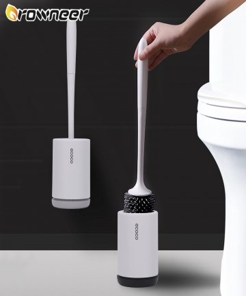 Rubber-Head-Toilet-Brush-Soft-Non-slip-TPR-Cleaning-Brush-White-Wall-Hanging-Floor-Super-Decontamination-Bathroom-Cleaning-Tool-
