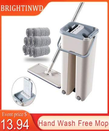 Hand-Wash-Free-Mop-Quick-Clean-Microfiber-Squeeze-Flat-Mop-For-Wash-Floor-Home-Bathroom-Kitchen-Cleaning-Mop-With-Bucket-Kit-400