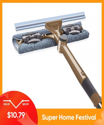 JOYBOS-Glass-Cleaning-Tool-Double-sided-Telescopic-Rod-Window-Cleaner-Mop-Squeegee-Wiper-Long-Handle-Rotating-Head-Brush-JBS12-1