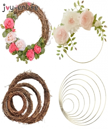 Wedding-Decoration-10-40cm-Rattan-Wreath-Metal-Hoop-Wreath-Decor-Floral-Hoop-Christmas-Decor-for-Home-Hanging-Artificial-Flower-