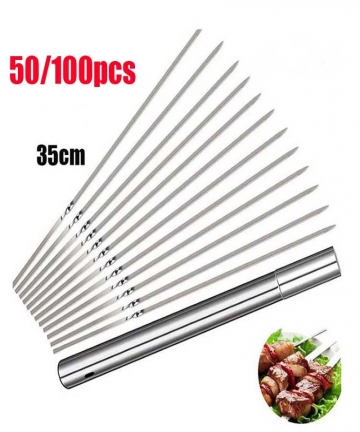 50100PCS-Stainless-Steel-Barbecue-Skewers-Tube-Reusable-BBQ-Skewer-Needle-Sticks-for-Shish-kabob-Grill-Kitchen-Accessories-40012