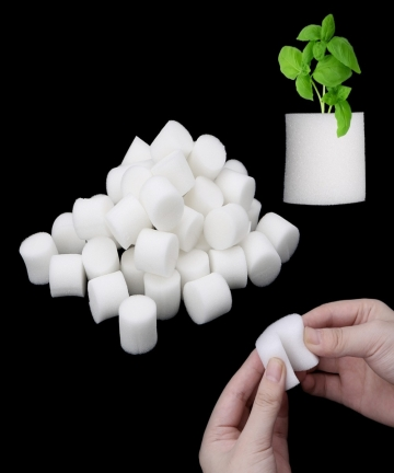 50PcsSet-Soiless-Hydroponic-Gardening-Plant-Tools-Planted-Sponge-Vegetable-Cultivation-System-32x30mm-45x30m-Optional-3290112853