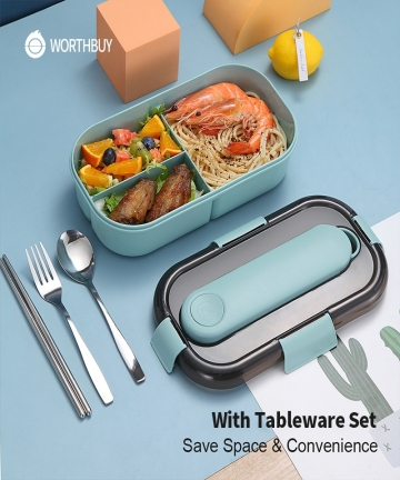 WORTHBUY-Japanese-Lunch-Box-For-Kids-Microwave-Plastic-Food-Container-With-Compartment-Tableware-Leak-Proof-Bento-Box-Food-Box-4