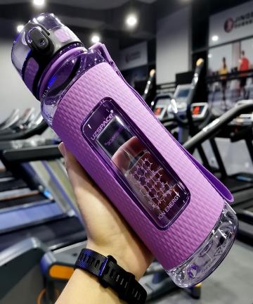 UZSPACE-Sports-Water-Bottles-Gym-Leak-proof-Drop-proof-Portable-Shaker-Outdoor-Travel-Kettle-Plastic-Drink-Water-Bottle-BPA-Free