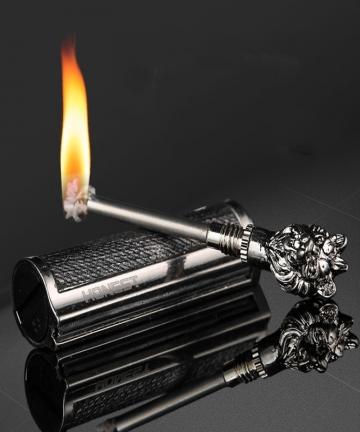 New-Metal-Waterproof-Permanent-Match-Lighter-Flint-Fire-Starter-Free-Fire-Torch-Kerosene-Oil-Gasoline-Outdoor-Survival-Tool-1005