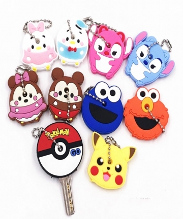 Hot-Sale-1-PCS-Cute-Creative-Silicone-Protective-Key-Case-Cover-for-Key-Control-Dust-Cover-Holder-Mini-New-Fashion-Keyring-Cap-1