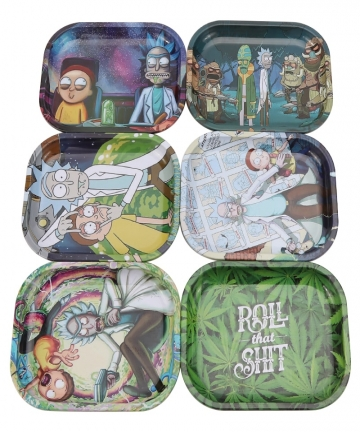 Metal-Tin-Rolling-Tray-18cm14cm-Smoking-Accessories-Tobacco-Rolling-Papers-Herb-Grinder-Small-Tray-Tobacco-Storage-Plate-1005001