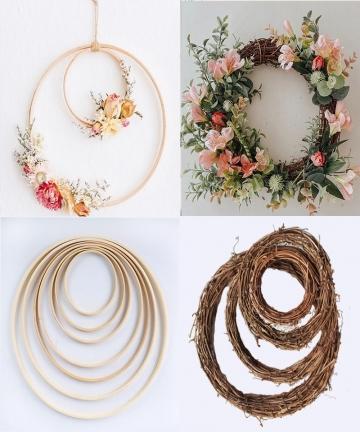10-40cm-DIY-Hanging-Wreath-RattanBambooMetal-Wreath-iron-Ring-Hoop-Door-Hanging-Craft-Party-Decorations-Easter-Wedding-Wreaths-3