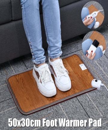3-Pattern-Leather-Heating-Foot-Mat-Warmer-Electric-Heating-Pads-Waterproof-Feet-Leg-Warmer-Carpet-Thermostat-Warming-Tools-220V-