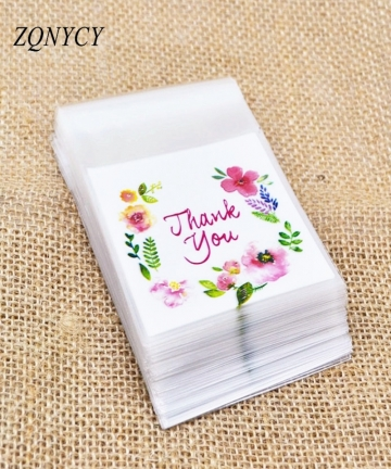 100Pcs-Plastic-Bags-Thank-you-CookieCandy-Bag-Self-Adhesive-For-Wedding-Birthday-Party-Gift-Bag-Biscuit-Baking-Packaging-Bag-329