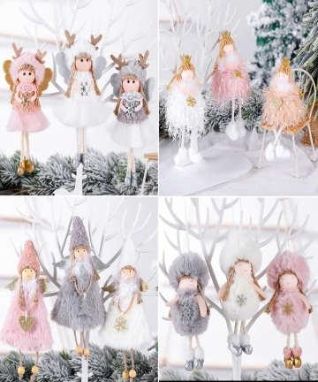 FENGRISE-Merry-Christmas-Decorations-For-Home-2020-Christmas-Angel-Doll-Xmas-Navidad-Noel-Gifts-Christmas-Ornament-New-Year-2021