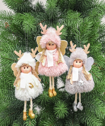 Christmas-Plush-Angel-Girl-Boy-Dolls-Xmas-Tree-Ornament-Natal-Noel-Deco-Christmas-Decorations-for-Home-New-Year-2021-Kids-Gift-4