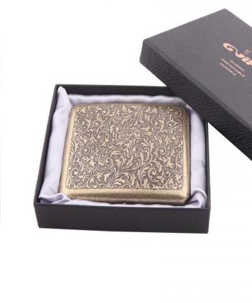 Vintage-Metal-Brass-Cigarette-Case-with-Gift-Box-Container-20-Pcs-Regular-Size-Cigarettes-Tobacco-Holder-Pocket-Box-Storage-3294