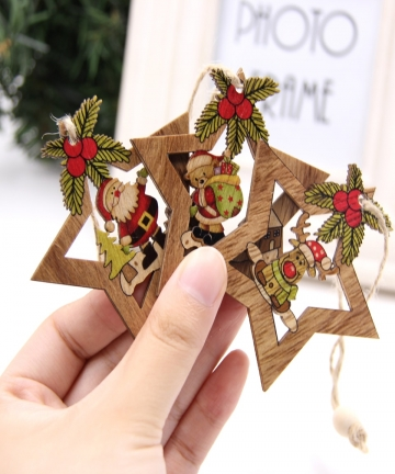 4PCS-Star-Printed-Wooden-Pendants-Ornaments-Xmas-Tree-Ornament-DIY-Wood-Crafts-Kids-Gift-for-Home-Christmas-Party-Decorations-32