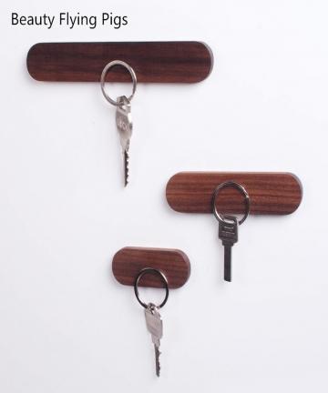 Wood-Key-Holder-Wall-Key-Storage-Organizer-Strong-Magnetic-Key-Rack-Hanger-Key-Ring-Hooks-Clerk-Housekeeper-on-the-wall-32967671