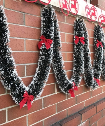 2M-Christmas-Decoration-Bar-Tops-Ribbon-Garland-Christmas-Tree-Ornaments-White-Dark-Green-Cane-Tinsel-Xmas-Party-Supplies-330533