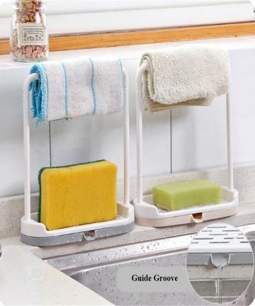 Kitchen-Utensil-Towel-Rack-Bar-Hanging-Holder-Rail-Organizer-Storage-Rack-Kitchen-Gadgets-Sponge-Shelf-Kitchen-Organizer-Drain-3