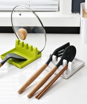 Hot-Cooking-Utensil-Rest-Kitchen-Organizer-and-Storage-with-Drip-Pad-Kitchen-Fork-Spoon-Holders-Non-slip-Pad-Kitchen-Accessories