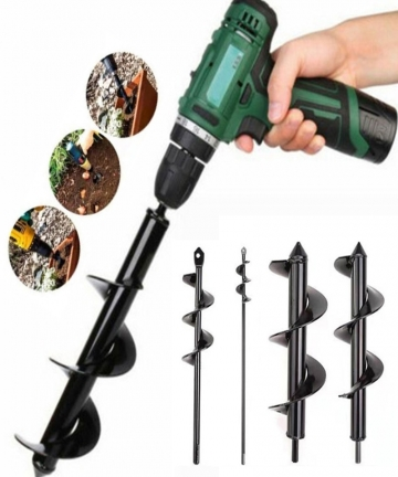 Dropshipping-Garden-Spiral-Drill-Bit-Set-Non-Slip-Hex-Drive-HEX-Shaft-Drill-Post-Soil-Cultivator-Planting-Hole-Digger-Tool-40010