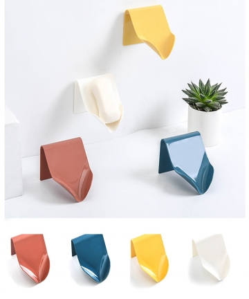 4-Colors-Soap-Holder-Bathroom-Shower-Soap-Storage-Box-Dish-Plate-Tray-Holder-Free-Punching-Drain-Plastic-Soap-Box-High-Quality-4