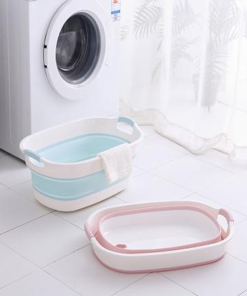 Baby-Shower-Protable-Bath-Tub-Folding-Baby-Shower-Bathtub-Portable-Pet-Bath-Tubs-Safety-Security-Bath-Accessories-Storage-Basket