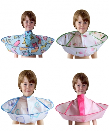 Kids-Boy-Hair-Cutting-Cape-Gown-Hairdresser-Barber-Apron-Hairdressing-Children-Girls-Boys-Hair-Cut-Cloak-Umbrella-Cape-Protecter