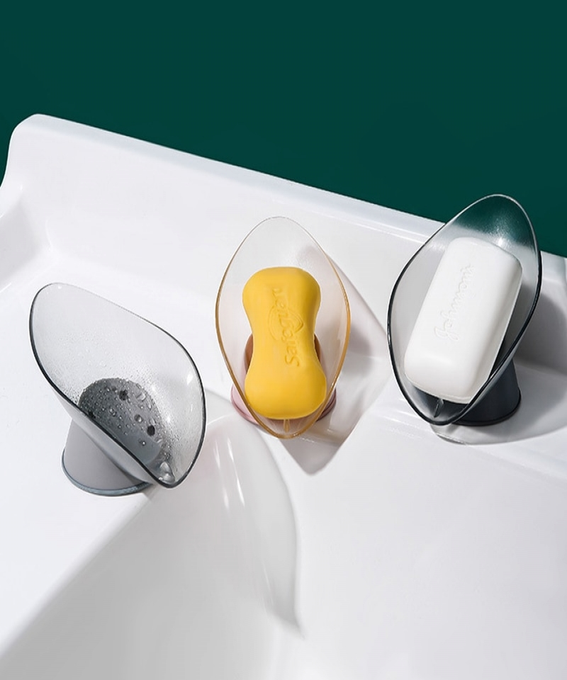 1-Pcs-Creative-Soap-Box-Drain-Soap-Holder-Free-Perforated-Leaf-Sucker-To-Put-Laundry-Soap-Dish-Bathroom-Supplies-100500151891312
