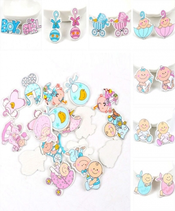 BluePink-Baby-Series-Pattern-Scrapbooking-Craft-DIY-Wood-For-Handmade-Sewing-Home-Kids-Birthdays-Party-Decorations-20pcs-35mm-32